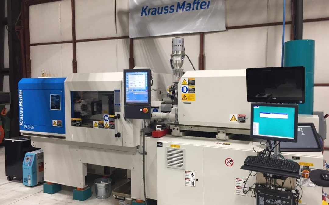 RJG Receives Consignment Machine from Krauss-Maffei Corporation