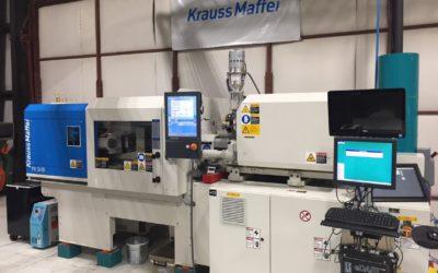 RJG Receives Consignment Machine from Krauss-Maffei Corporation