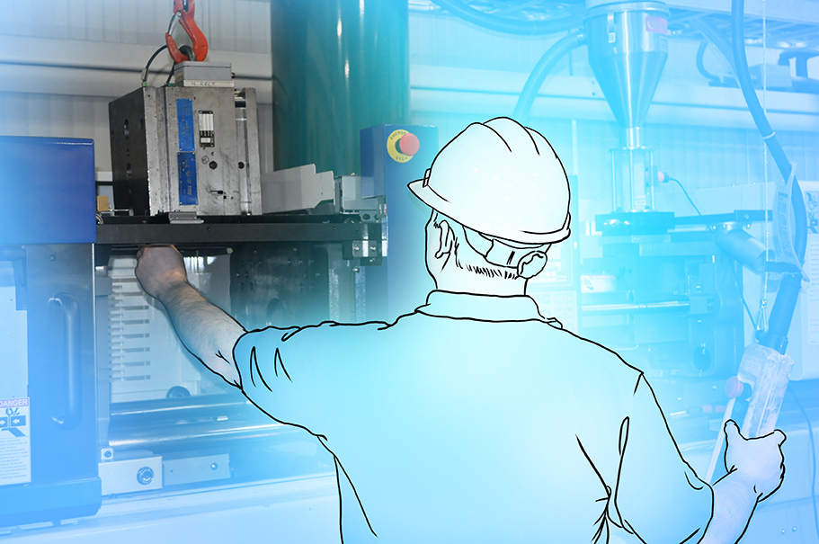 The right mold in the right injection molding machine