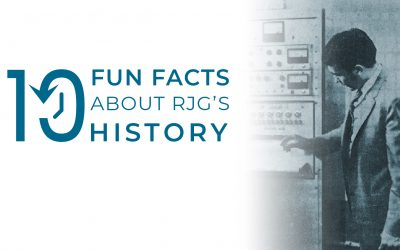 10 Fun Facts About RJG's History