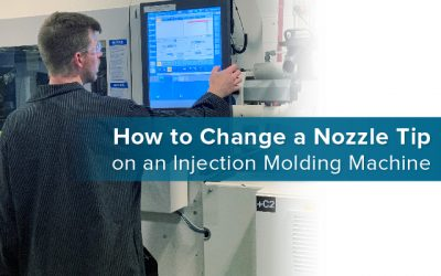 How to Change a Nozzle Tip on an Injection Molding Machine